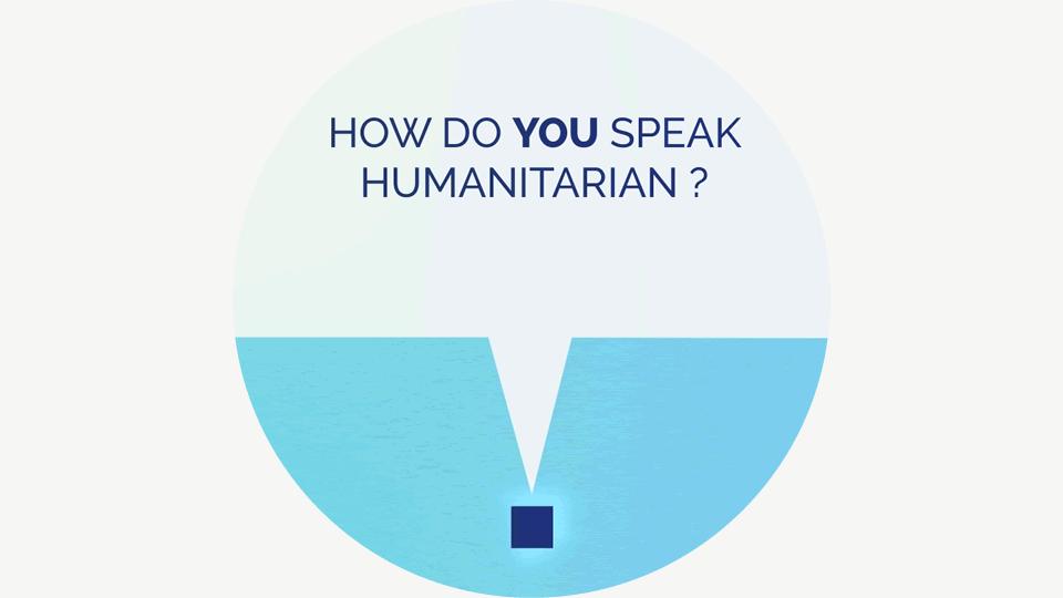 Comment parlons-nous l'humanitaire ?